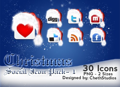 Christmas-Special-Free-Social-Networking-Icons